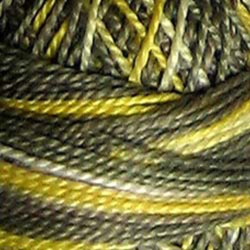 M803PERLE COT.8 SUNFLOWER SEEDS-BRIGHT YELLOWS,GREEN GRAYS